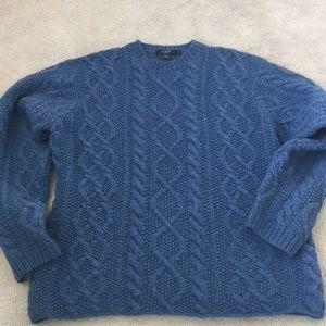 J Crew 100% Lambs Wool Sweater Medium